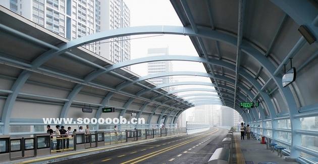 厦门快速公交系统(BRT)隔声屏障